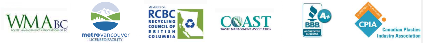 Recycling council of BC RCBC CWMA WMABC BBB CPIA