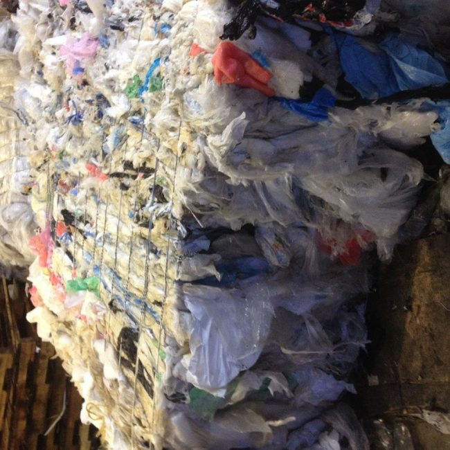 Clear Film C Grade Recycling