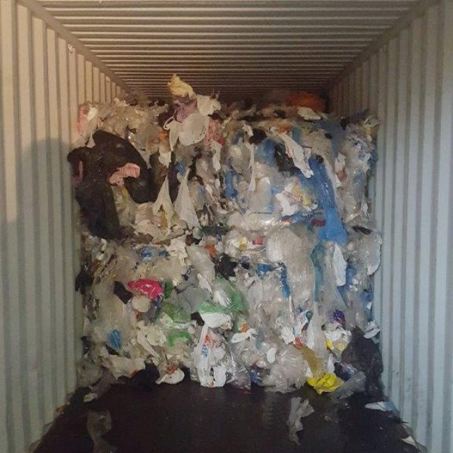 Shopping Bag Recycling