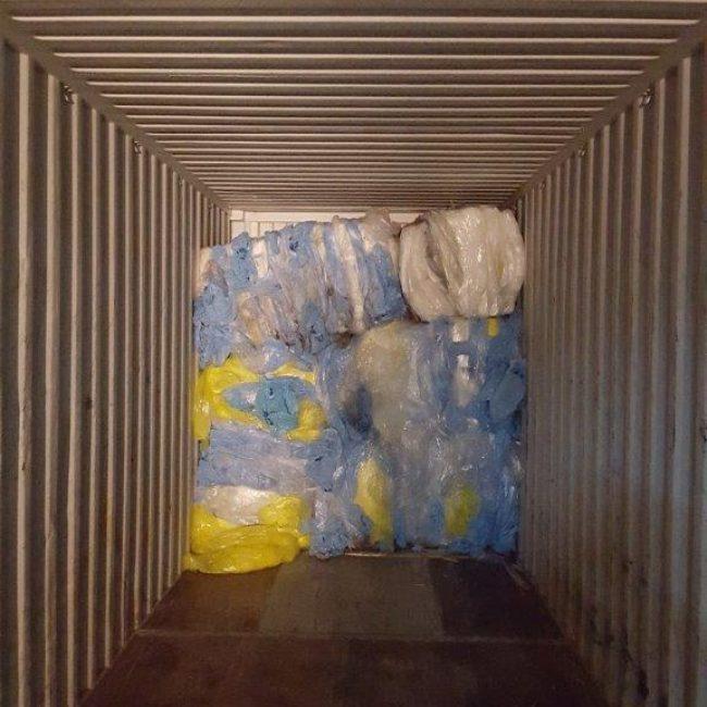 Blue Film Recycling