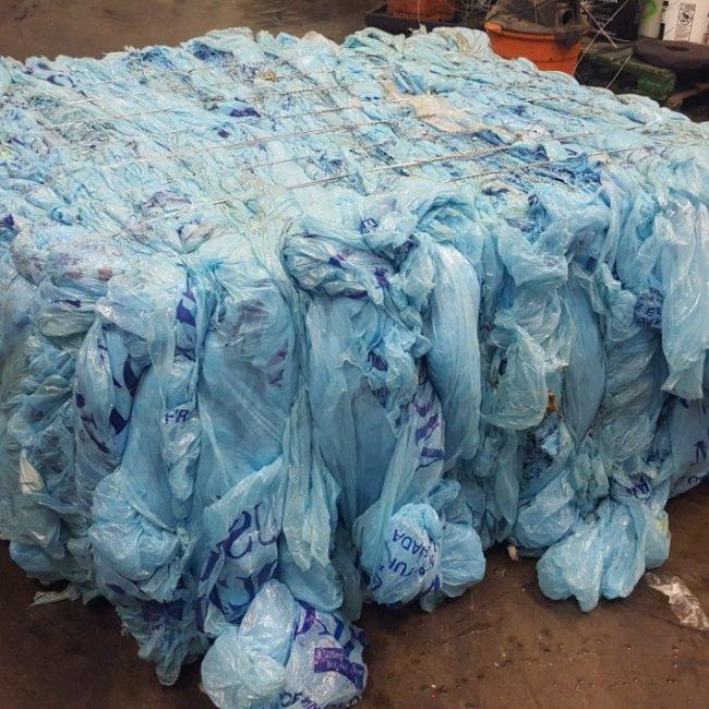 Blue Film Recycling