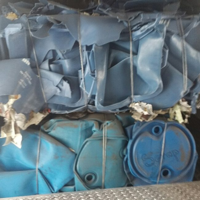 HDPE Blue Barrells / Drum Recycling